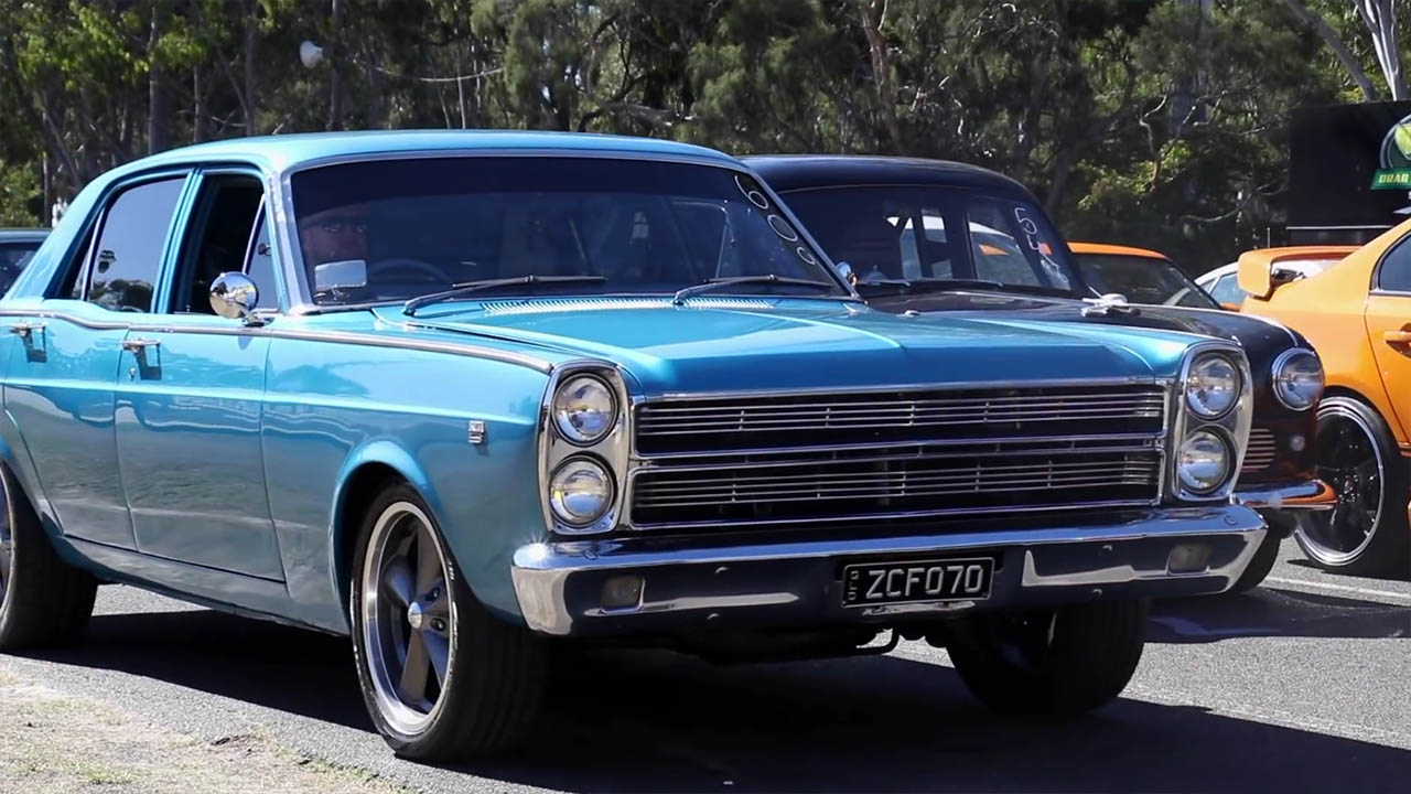 1970 Ford Fairlane with a Turbo 1UZ V8 Goes Drag Racing – Engine ...