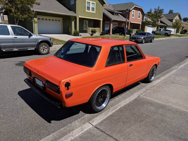 1971 Datsun 510 with a Supercharged Buick V6