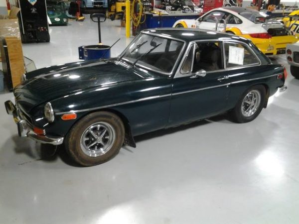1974 MGB GT with a Roush Coyote V8