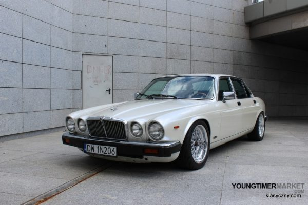 1981 Jaguar XJ with a Turbo 1JZ inline-six