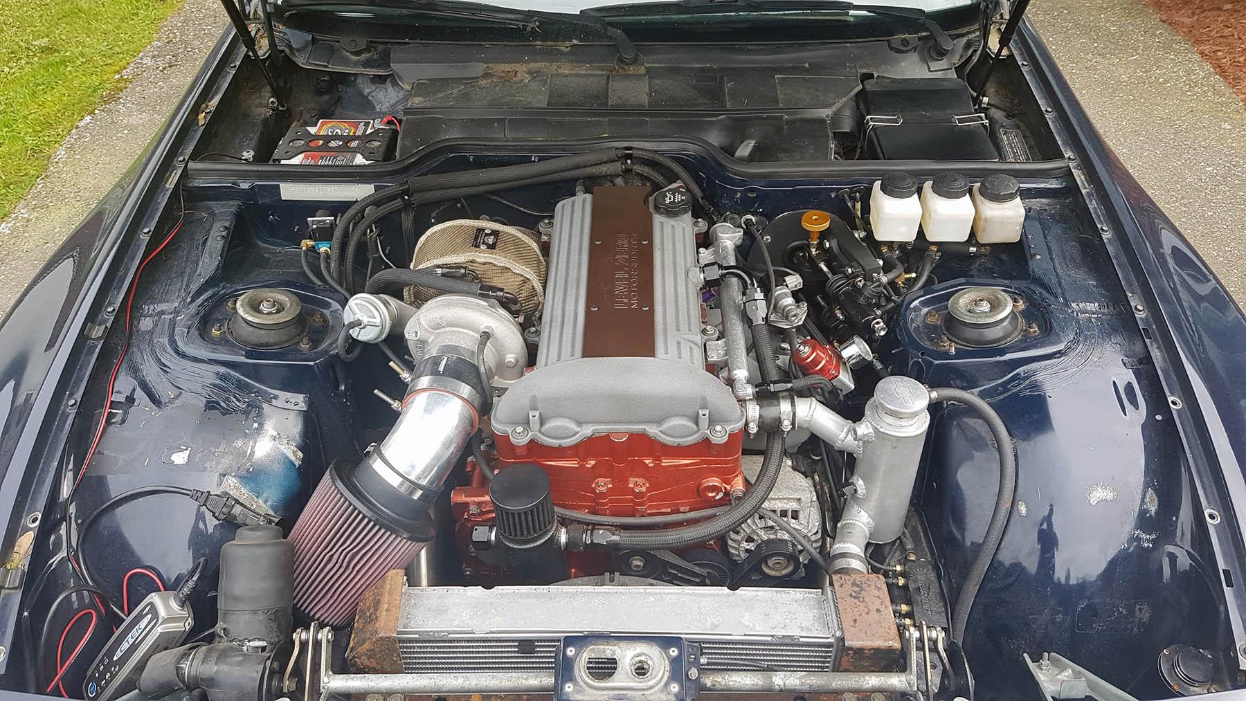 Porsche 944 With A Turbo 2 2 L Ecotec Inline Four Engine Swap Depot