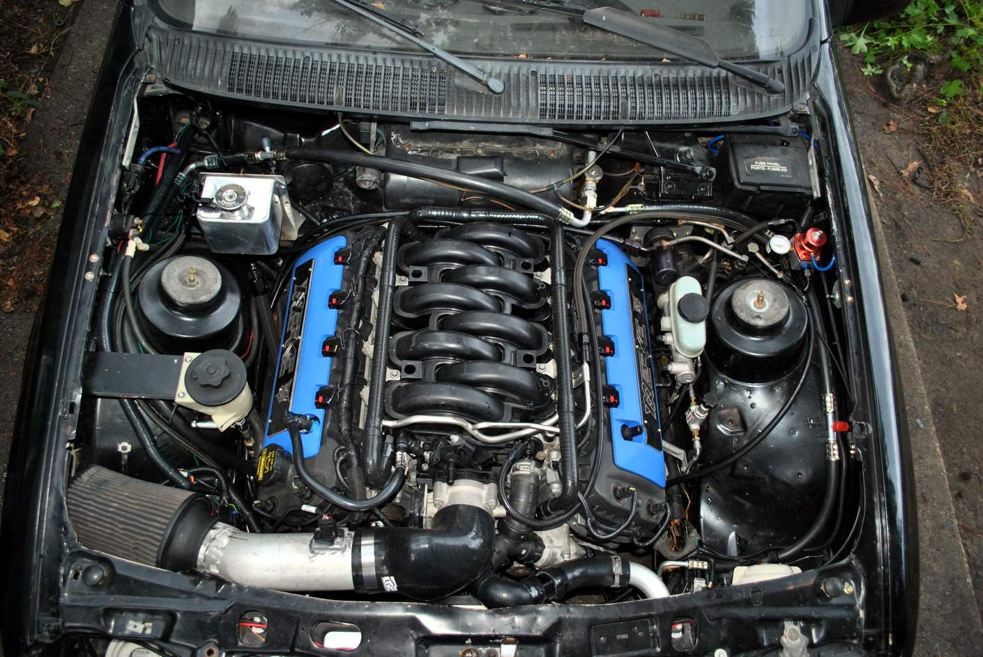 Merkur XR4Ti with a Coyote V8 – Engine Swap Depot