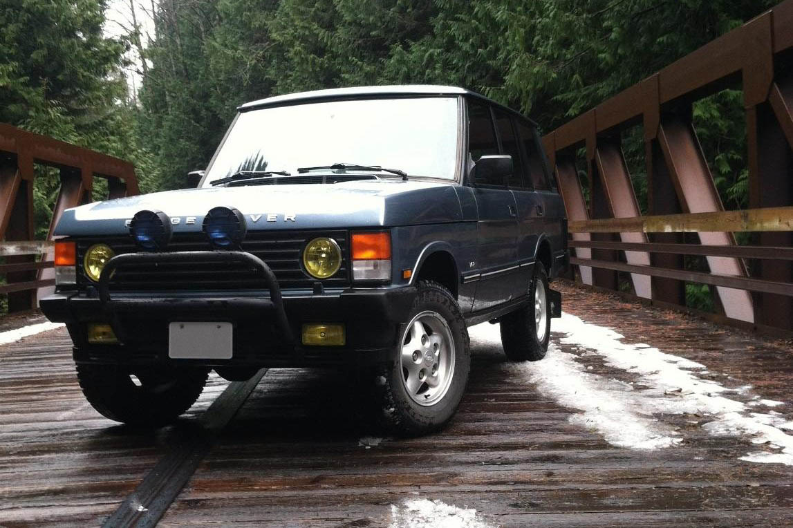 For Sale: 1991 Range Rover Classic with a BMW V12 – Engine Swap Depot