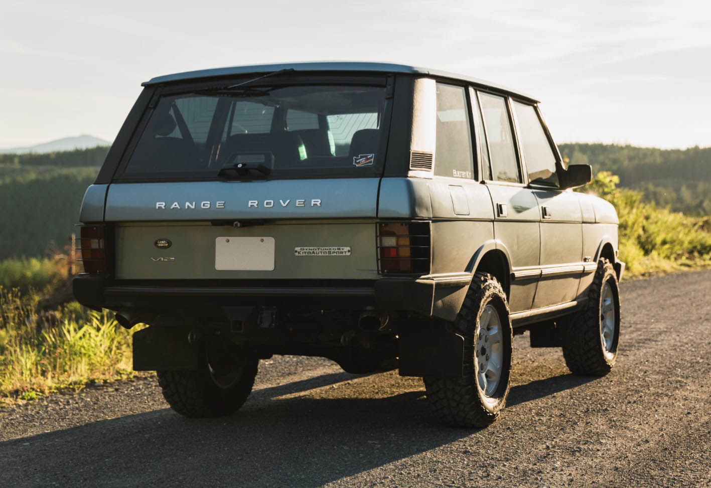 For Sale: 1991 Range Rover Classic with a BMW V12 – Engine