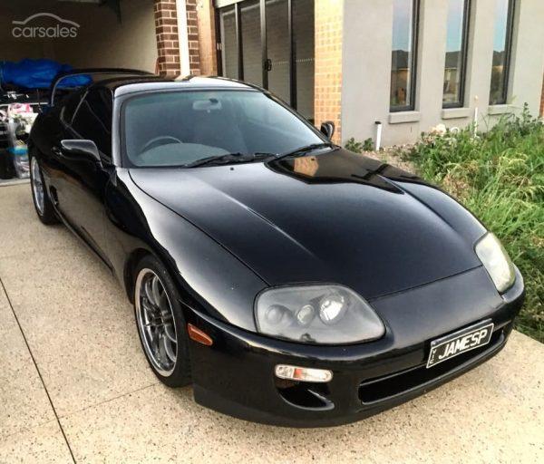 1993 Supra with a LS3 V8