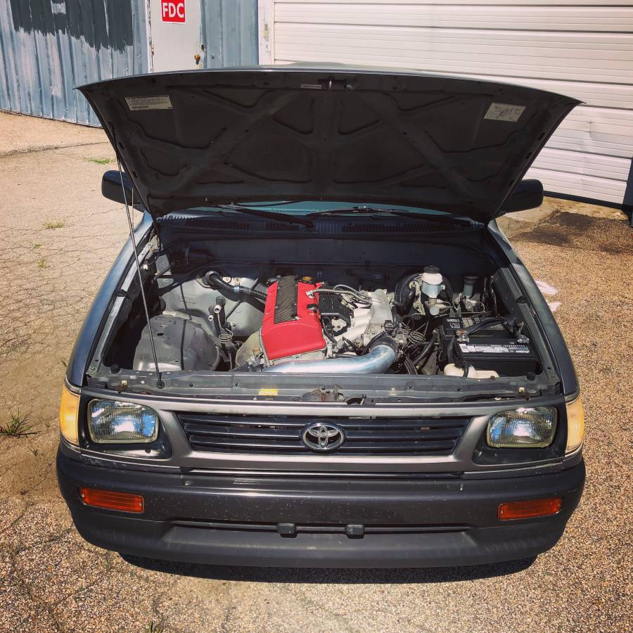 For Sale: 1996 Tacoma with a Honda F22 Inline-Four – Engine Swap Depot