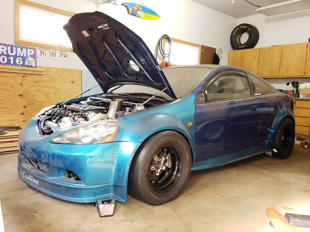 Building An Acura RSX With Two Turbo LSx V8s Update 2 Engine Swap