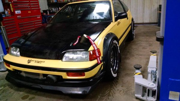 4WD Honda CRX with a Turbo F22 – Engine Swap Depot