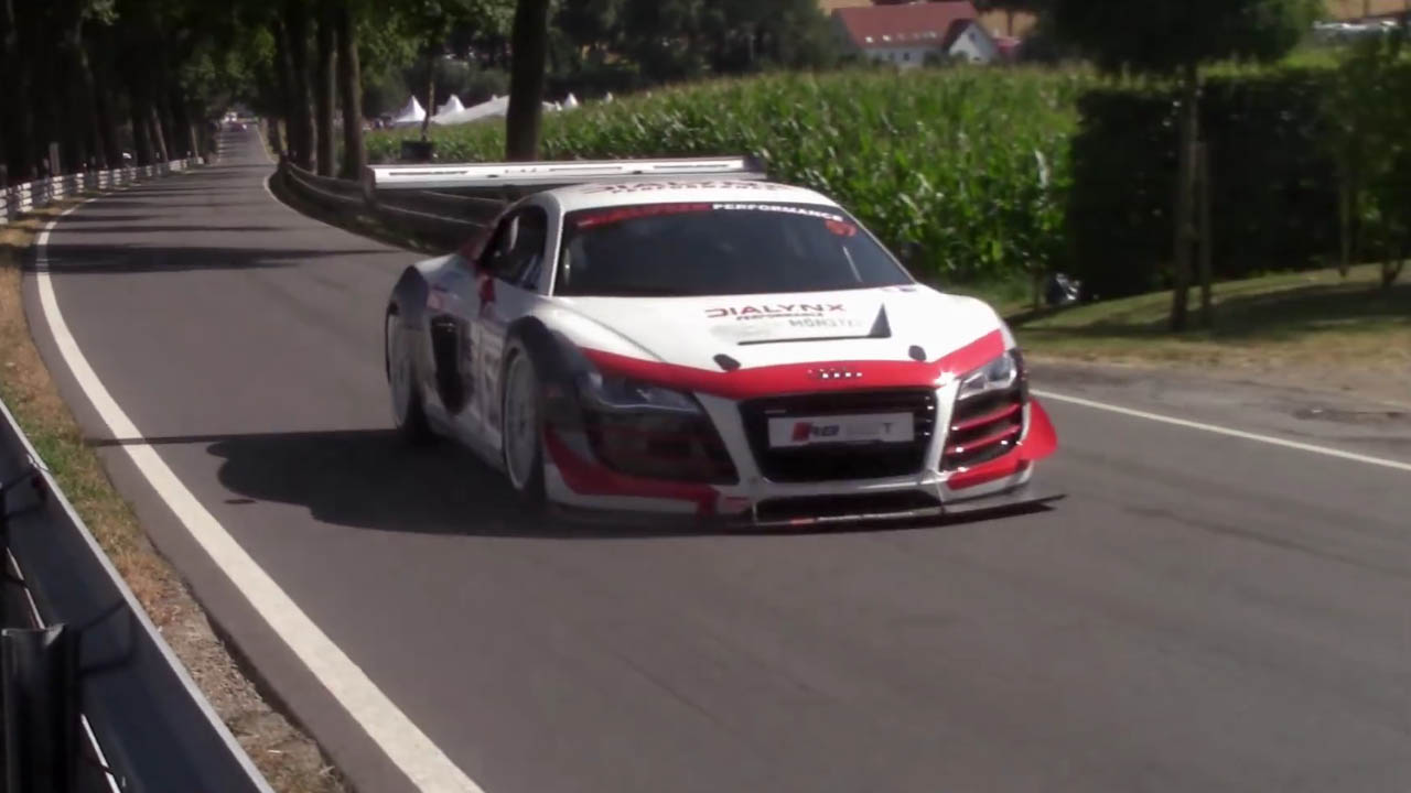 Video Of Dialynxs Audi R8 With A Turbo Inline Four Racing Engine