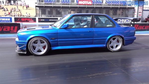 BMW E30 with a turbo 2JZ inline-six