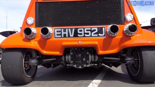 Bond Bug with a Hayabusa Inline-Four