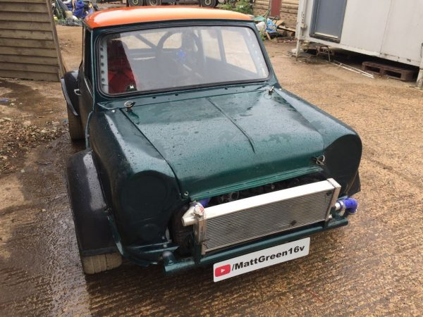 Mini Race Car with a Subaru 4WD Powertrain