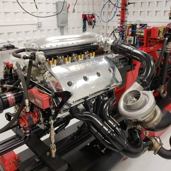 Moran Motorsport Twin-Turbo 670 ci HEMI V8