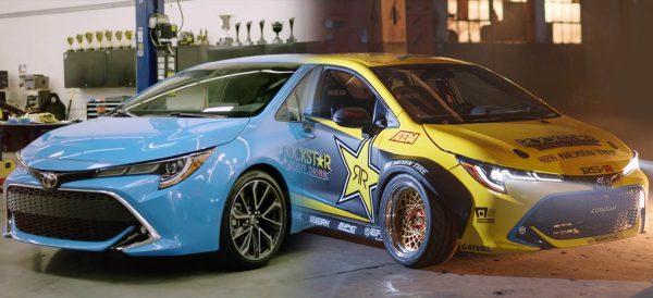 Papadakis Racing RWD Corolla transformation
