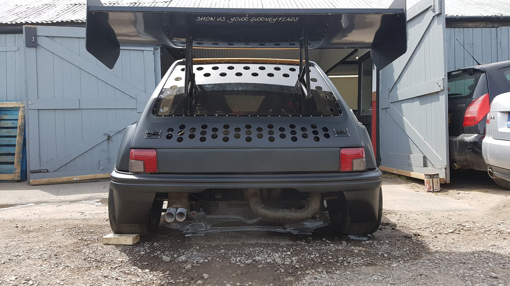 Peugeot 205 With Twin V6 Engines Engine Swap Depot