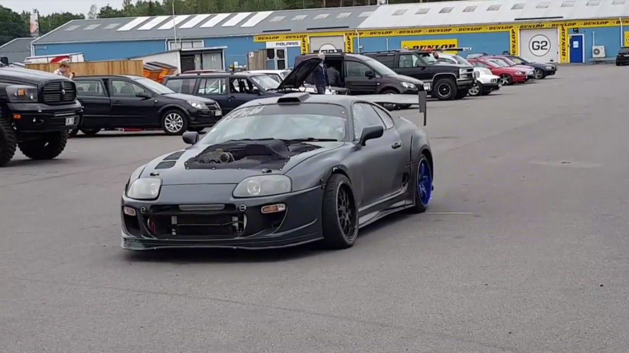 Supra with a Supercharged HEMI V8