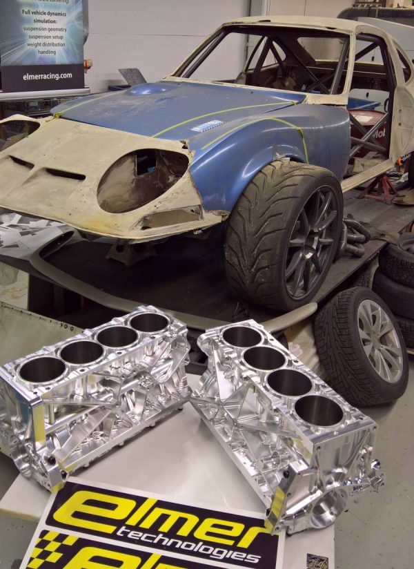 Time Attack Opel GT with a Turbo Thor Inline-Four