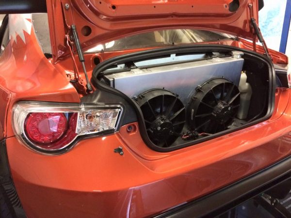 Toyota GT86 with a turbo 2JZ inline-six