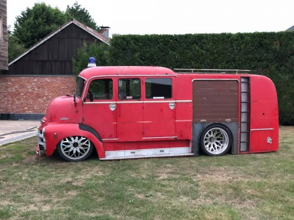1955 Chevy COE with a Turbo Duramax V8