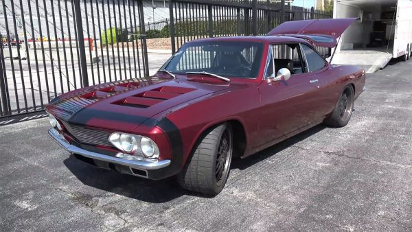 1966 Corvair with a LS2 V8