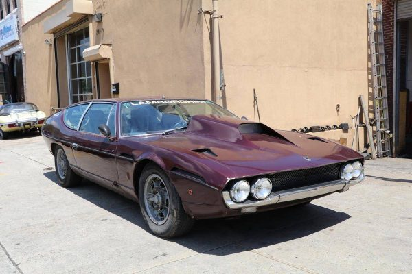 1970 Lamborghini Espada with a Chevy V8