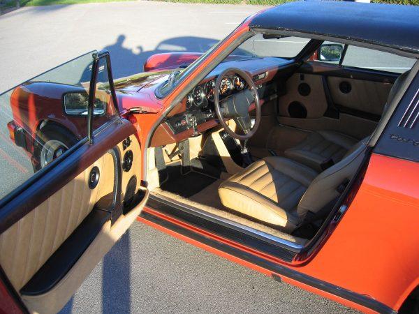 1981 Porsche 911 with a 8.2 L Cadillac V8