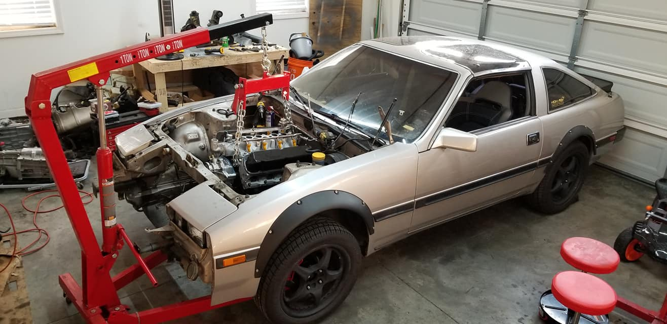 Nissan 300ZX with a Ford 5 0 L V8 – Engine Swap Depot