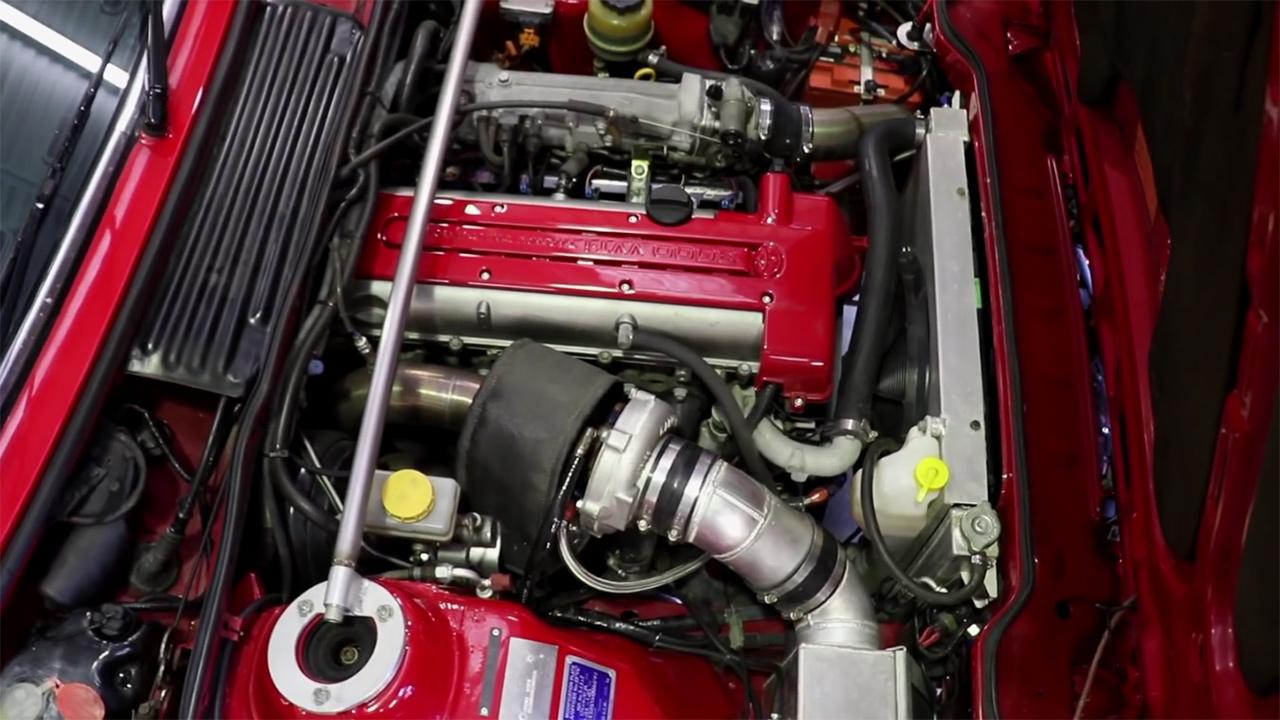 1986 BMW 635CSi with a Turbo 2JZ – Engine Swap Depot
