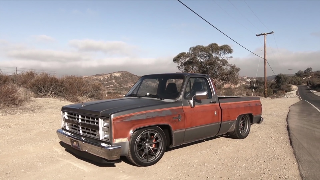 1986 Chevy C10 Silverado With A Supercharged Lt4 V8 Engine Swap Depot