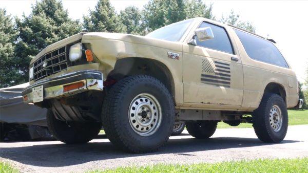 1988 S10 Blazer 4x4 with a Chevy 350 V8