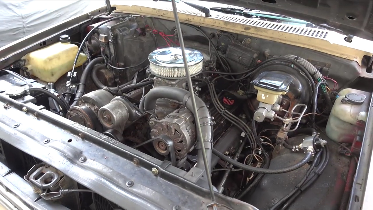 S10 Blazer 4×4 with a Chevy 350 V8 – Engine Swap Depot on