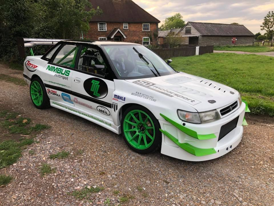 1992 Subaru Legacy with a Turbo 2.35 L EJ22 Flat-Four