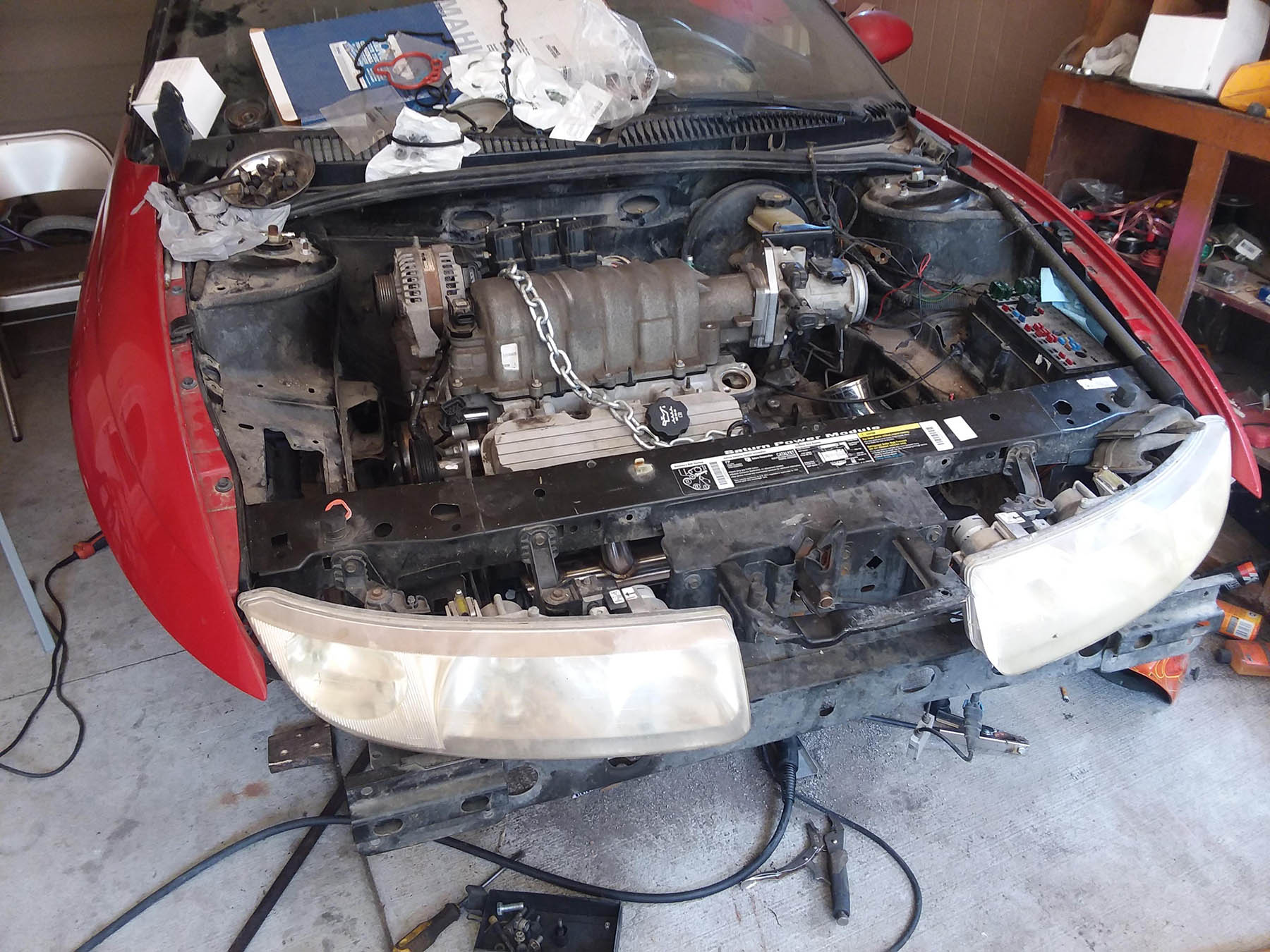 Building A 1997 Saturn Sc2 With A Turbo 3800 V6