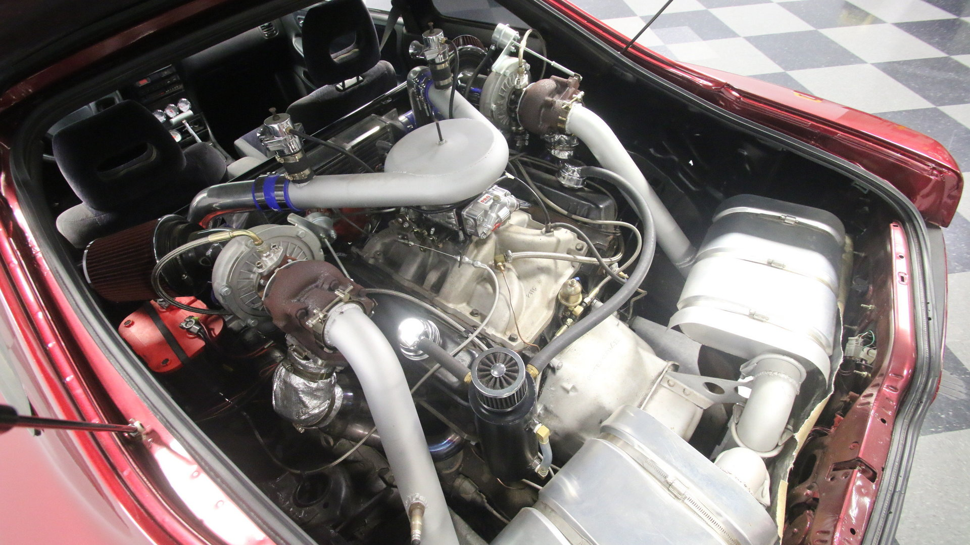 For Sale Acura Integra With A Twin Turbo Cadillac V8 In