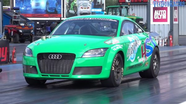 Audi TT with a turbo R30 VR6