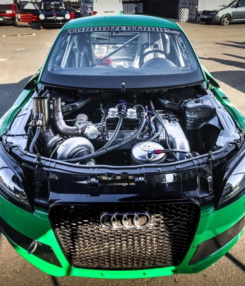Audi TT with a 1356 hp VR6 – Engine Swap Depot