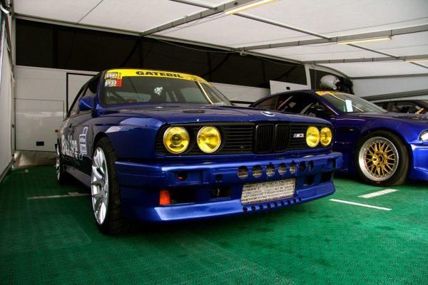BMW E30 M3 with a turbo 2JZ inline-six
