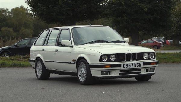 BMW E30 Wagon with a Supercharged M62 V8