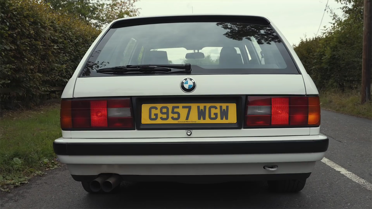 BMW E30 Wagon with a Supercharged M62 V8 – Engine Swap Depot