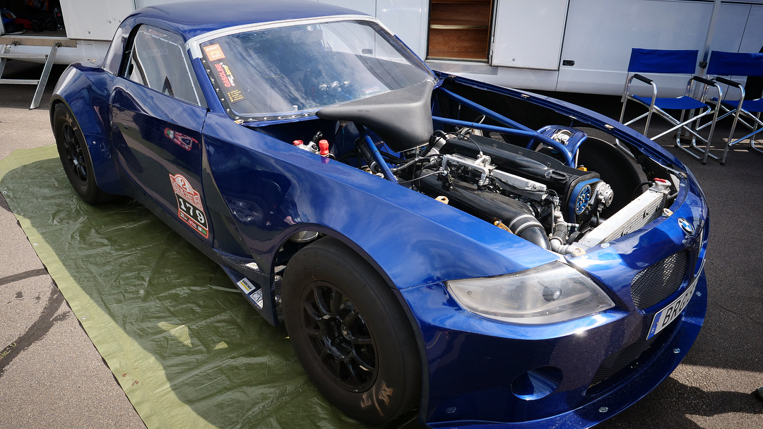 Custom BMW Z4 with a Turbo RB26 and 4WD Drivetrain