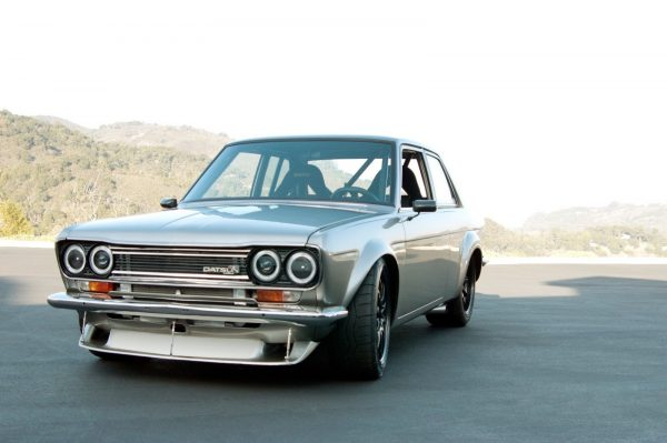 Datsun 510 with a LS6 V8