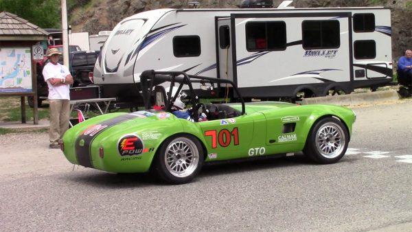 EPower Racing Cobra with a Tesla electric motor
