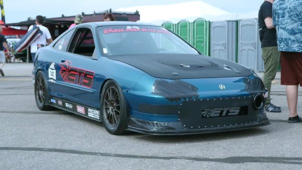 English Racing Integra with a Turbo B18C Inline-Four