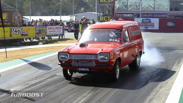 Ford Escort Van with a Turbo Barra Inline-Six