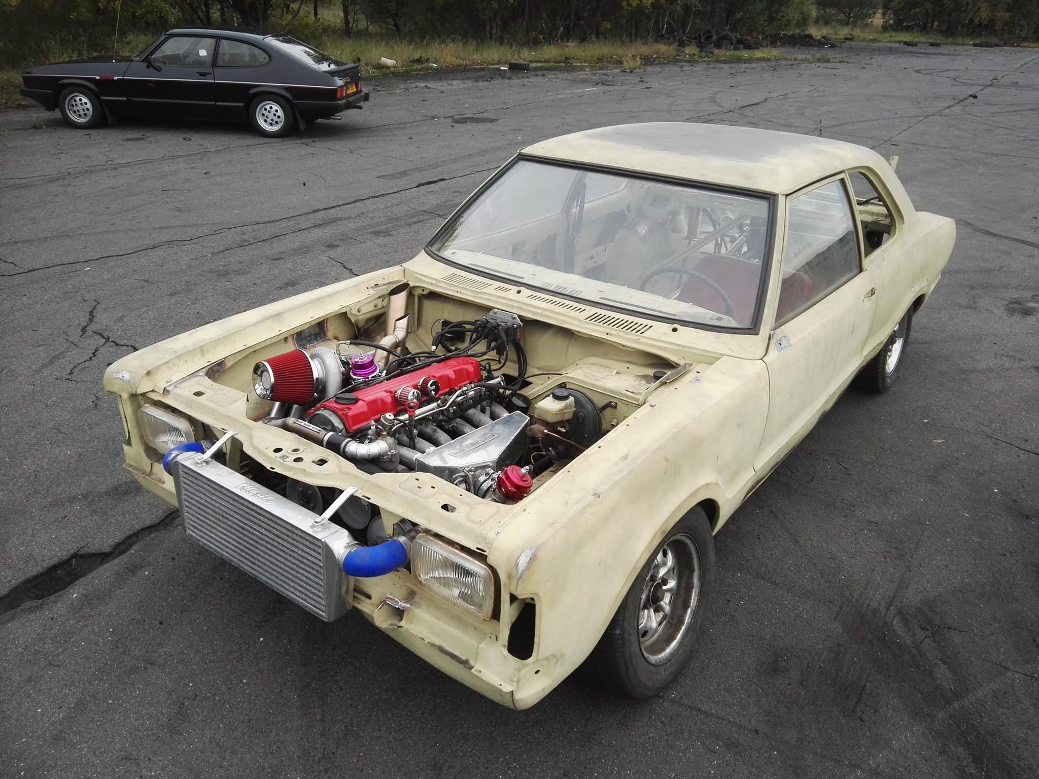 Ford Taunus TC with a Turbo Mercedes M103 Inline-Six