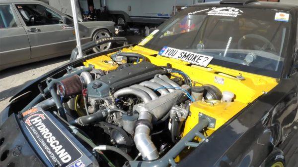 engine swaps found in Gatebil pits 2018