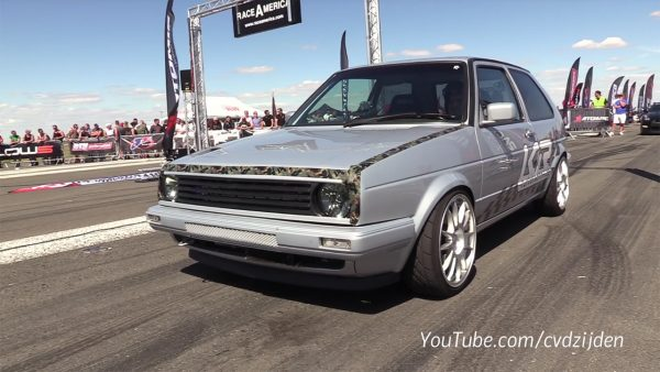 Golf Mk2 with a Turbo VR5