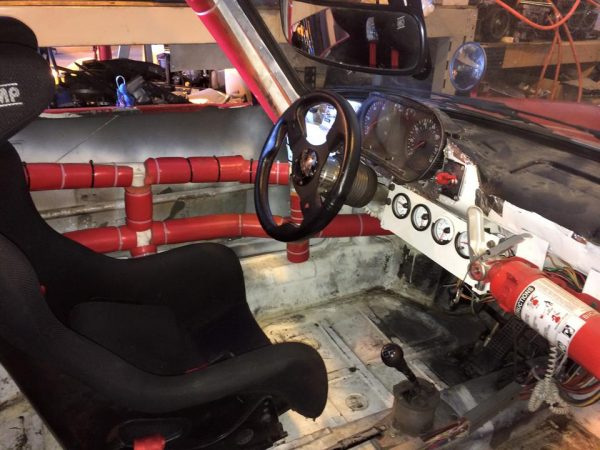 Porsche 911 with a VW 1.9 L TDI Turbo Diesel Inline-Four
