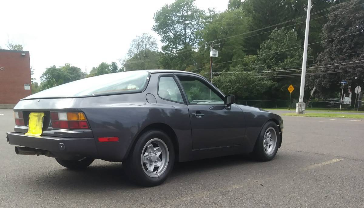 For Sale: 1983 Porsche 944 with a Chevy 350 V8 – Engine Swap