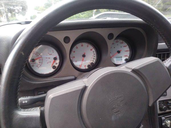 Porsche 944 with a Chevy 350 V8